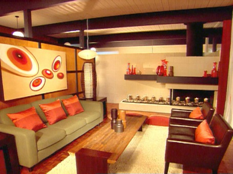Interior design the house queen for Living room 102